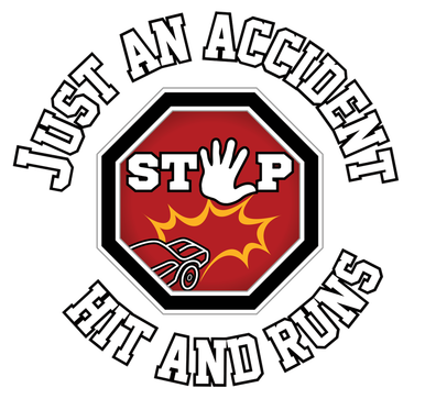 Just An Accident Stop Hit and Runs logo